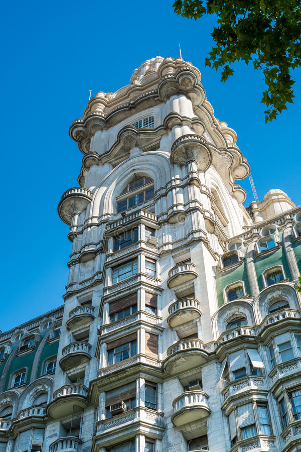 Barolo Palace in Buenos Aires royalty free stock images