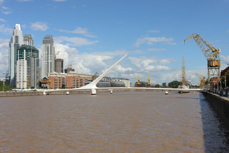 Download Buenos Aires City editorial photography. Image of bridge - 13888207
