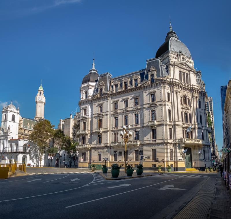 Buenos Aires City Hall - Palacio Municipal de la Ciudad de Buenos Aires - Buenos Aires, Argentina. Buenos Aires City Hall - Palacio Municipal de la Ciudad de royalty free stock photos