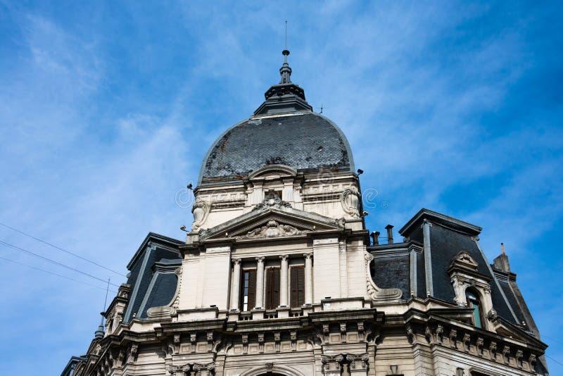 Buenos Aires City Hall Palacio Municipal de la Ciudad de Buenos Aires royaltyfria foton