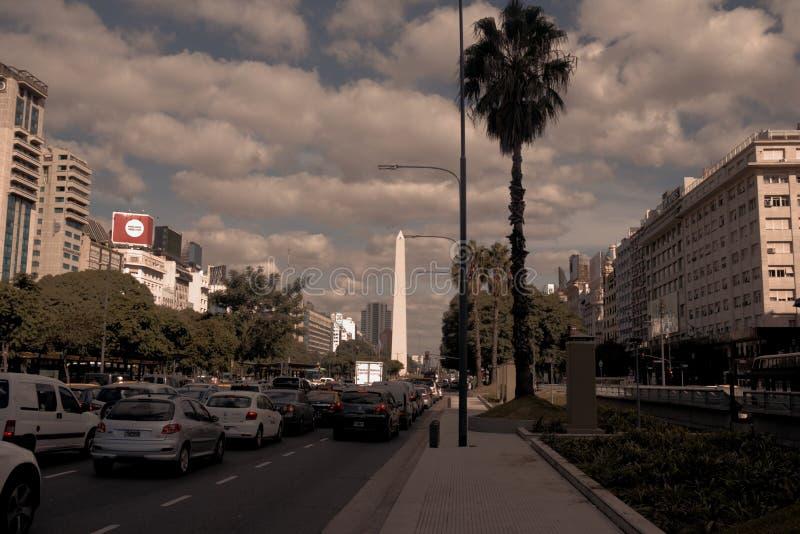 Buenos aires de favoriete bestemming stock foto