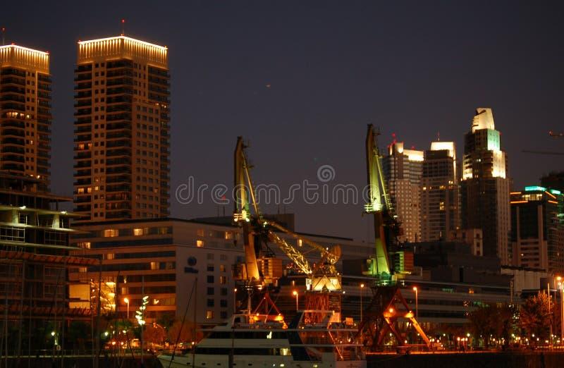 Buenos Aires de Night imagen de archivo libre de regalías