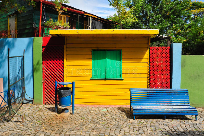 Buenos Aires, district de Boca photos libres de droits