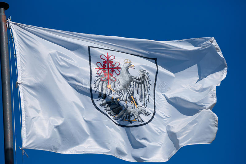 Buenos Aires Flag stock image