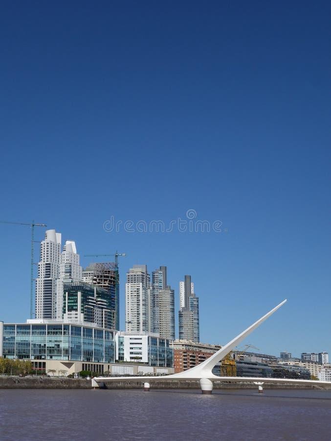 Buenos Aires horisont royaltyfri bild