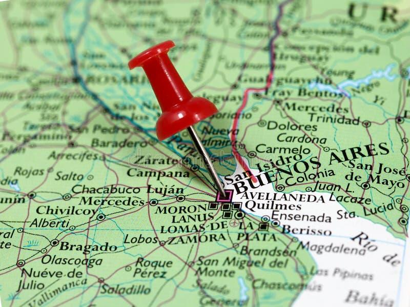 Buenos Aires i Argentina arkivbild