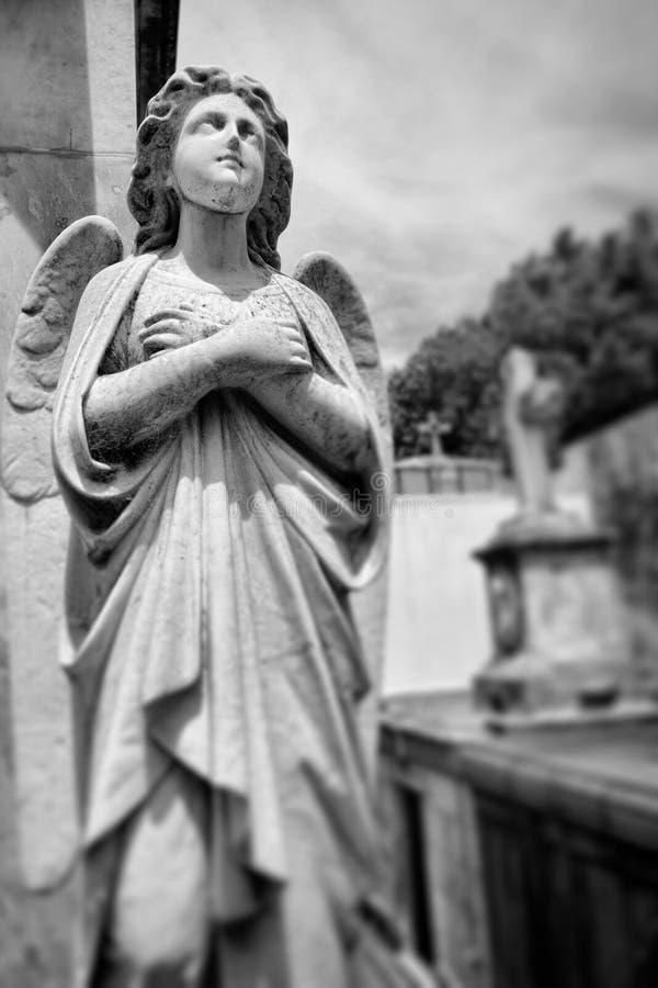 BUENOS AIRES JANUARI 30, 2016 - LaRecoleta kyrkogård som lokaliseras i den Recoleta grannskapen arkivfoton