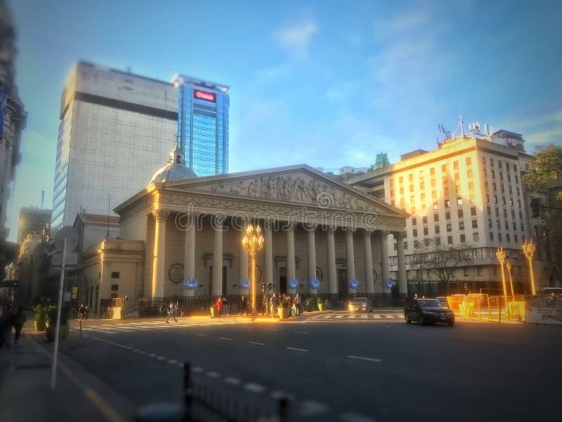 Buenos Aires katedra fotografia stock