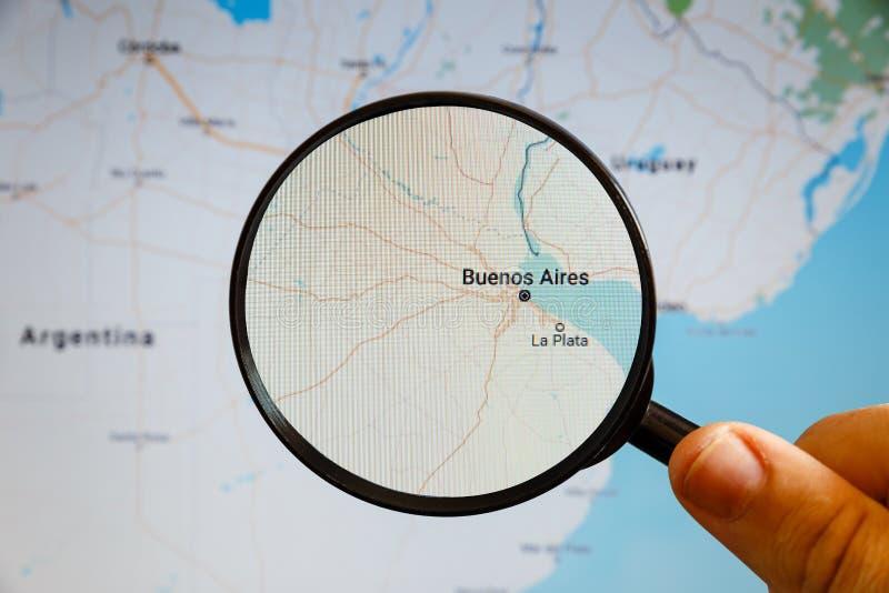 Buenos Aires, la Argentina correspondencia pol?tica foto de archivo libre de regalías