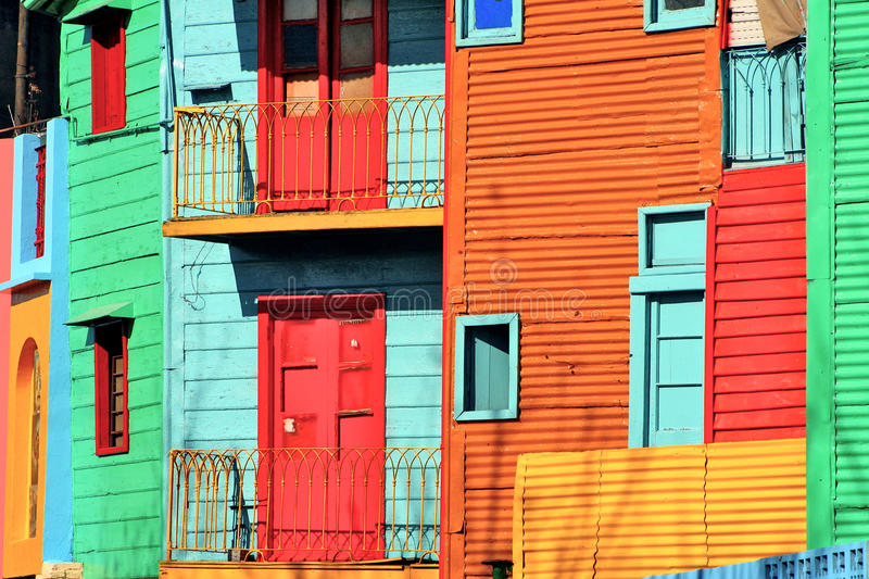 Buenos Aires La Bocca royalty free stock images