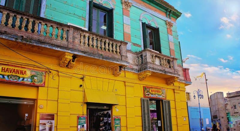 Buenos Aires, landmark El Caminito District stock photography