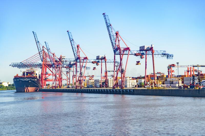 Buenos Aires Port royalty free stock photo