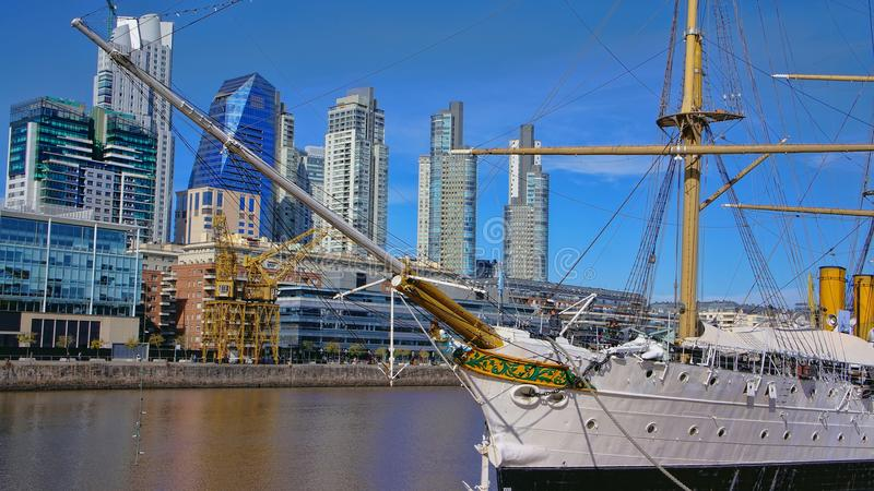 Buenos Aires, Puerto Madero image stock