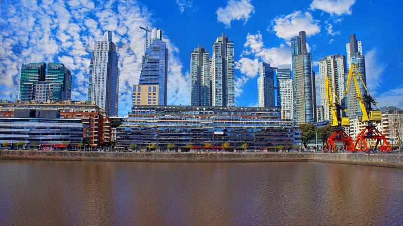 Buenos Aires, Puerto Madero imagens de stock