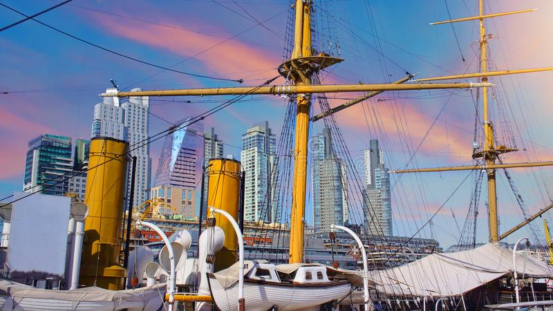 Buenos Aires, Puerto Madero stock image