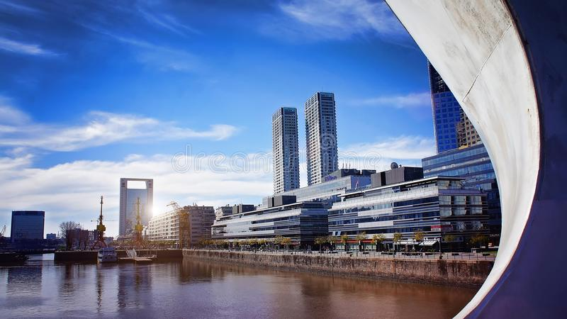 Buenos Aires, Puerto Madero royalty free stock image