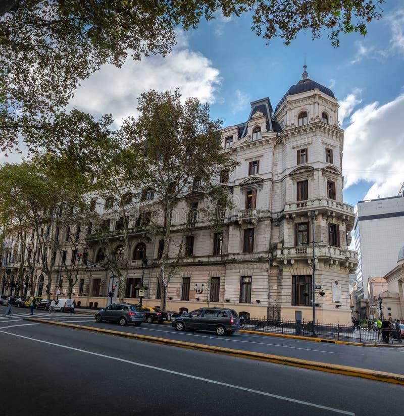 Buenos Aires stadshus - Palacio Kommunal de la Ciudad de Buenos Aires - Buenos Aires, Argentina royaltyfria bilder