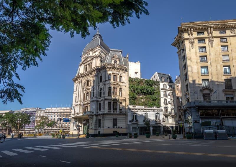 Buenos Aires stadshus - Palacio Kommunal de la Ciudad de Buenos Aires - Buenos Aires, Argentina arkivfoto