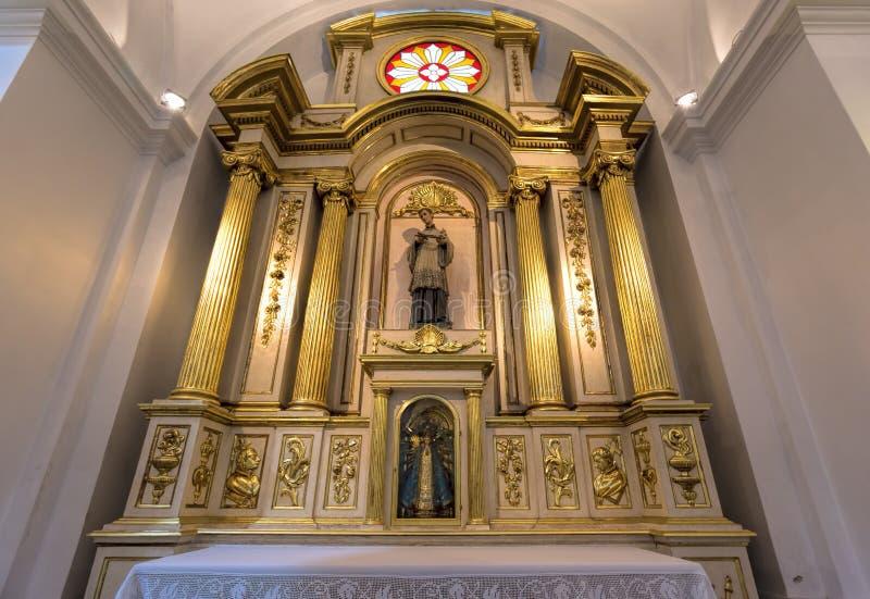 BUENOS AIRES, STYCZEŃ 2, 2016 - San Ignacio kościół rzymsko-katolicki obraz stock