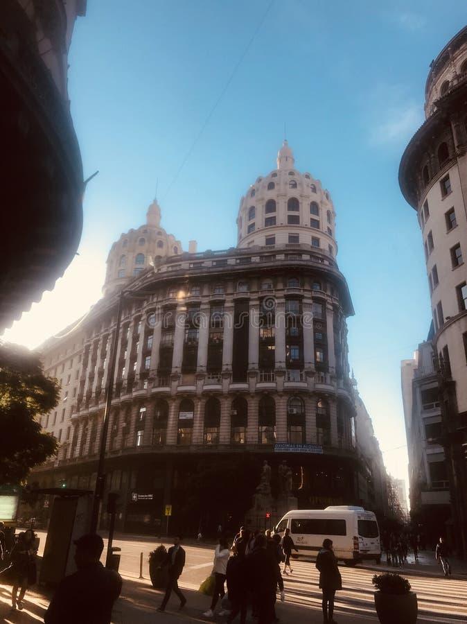 Buenos- Airesgebäude stockbild