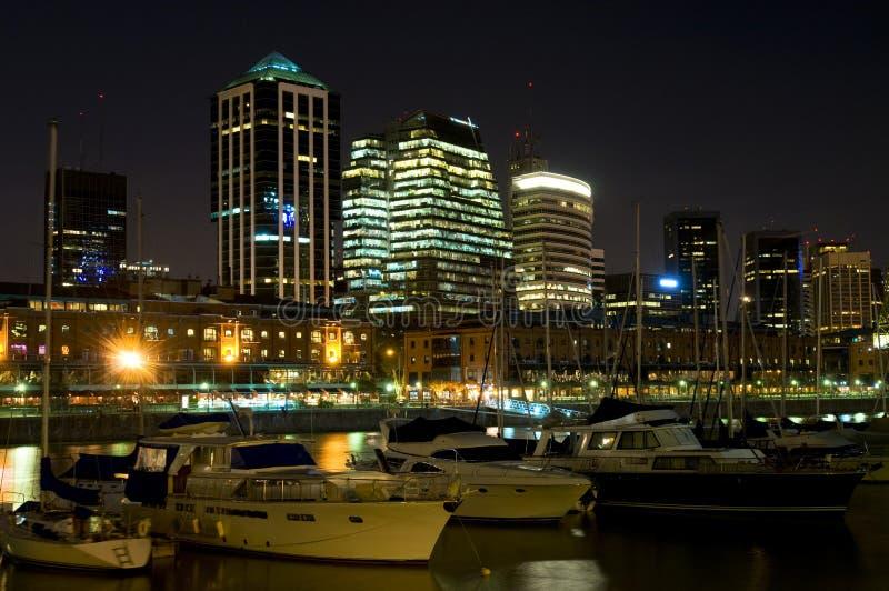 Buenos- AiresGeschäftszentrum lizenzfreie stockfotos