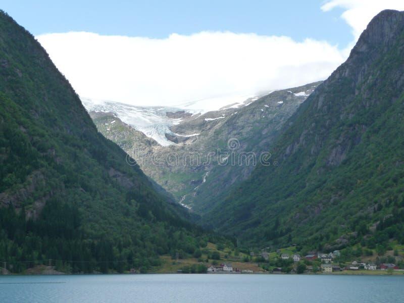 Buer-Gletscher stockbilder
