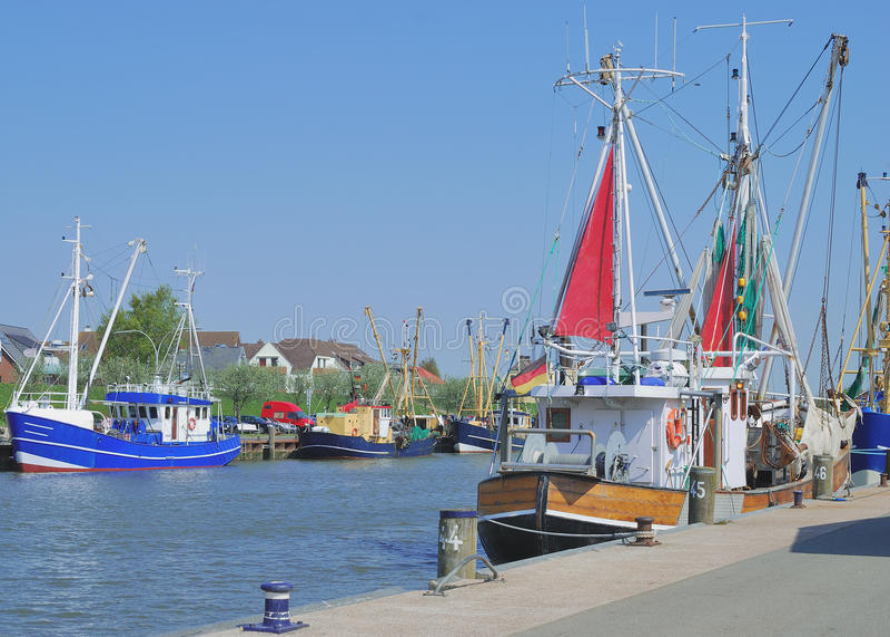 Buesum, Noordzee, Duitsland stock fotografie