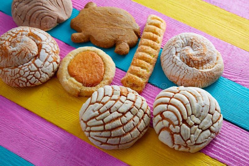 Buey mexicain d'ojo de puerquito de conque de pâtisseries photos libres de droits