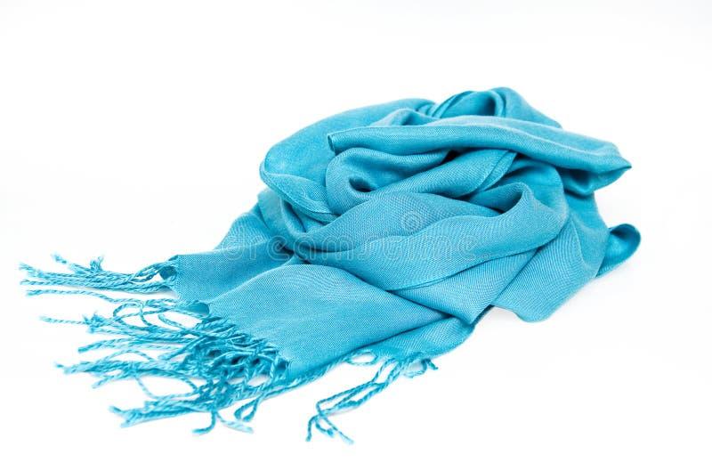 Bufanda azul foto de archivo libre de regalías
