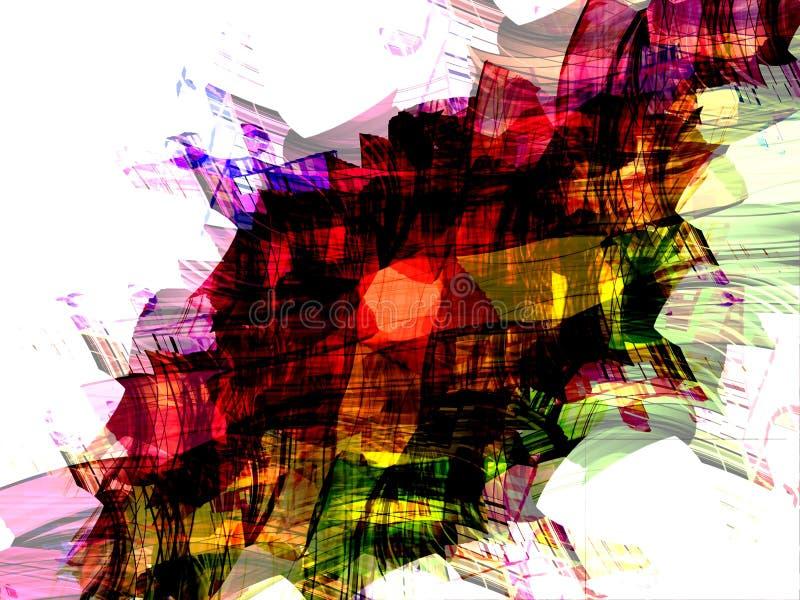 Bufanda colorida 2 stock de ilustración