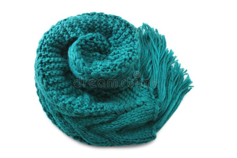 Bufanda de las lanas fotos de archivo