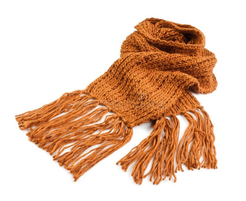 Bufanda hecha punto del invierno foto de archivo