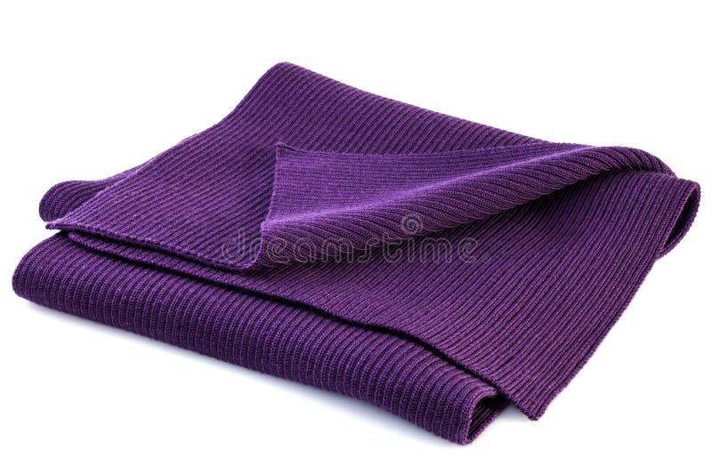Bufanda púrpura fotografía de archivo libre de regalías