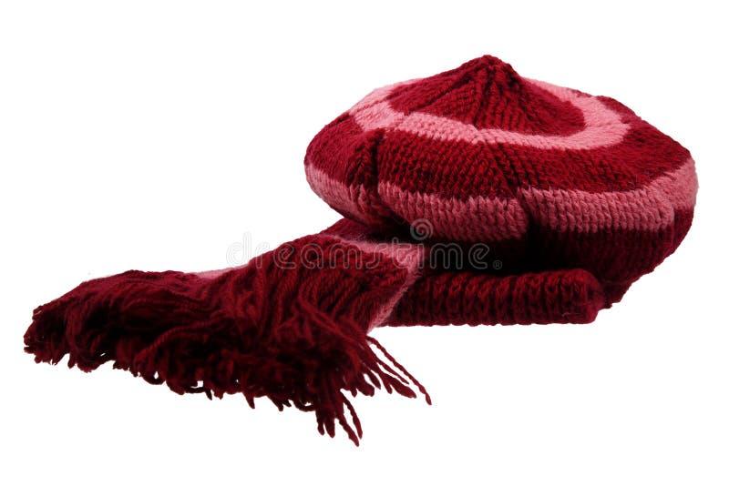Bufanda y casquillo foto de archivo libre de regalías