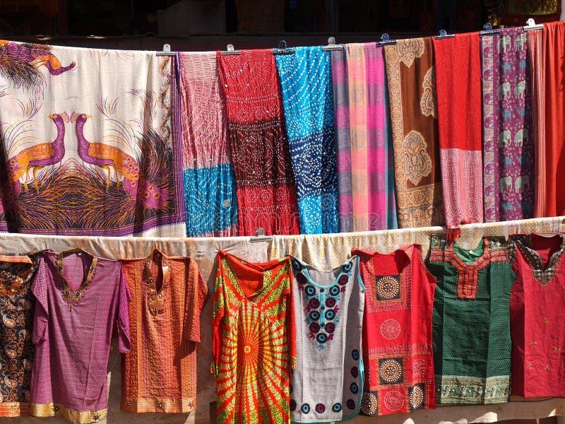 Vestidos coloridos fotografía de archivo