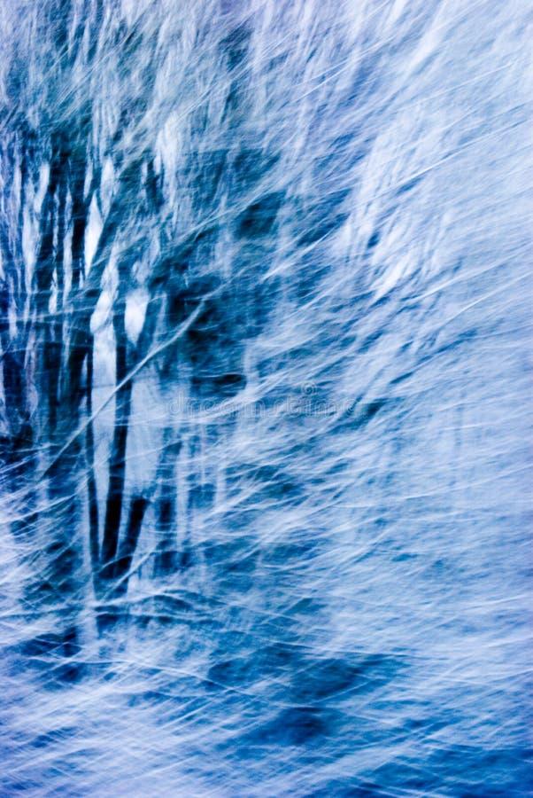 Bufera di neve astratta immagini stock