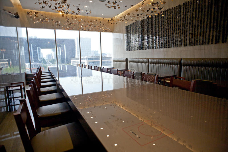 Bufet restauracja Desi obrazy royalty free