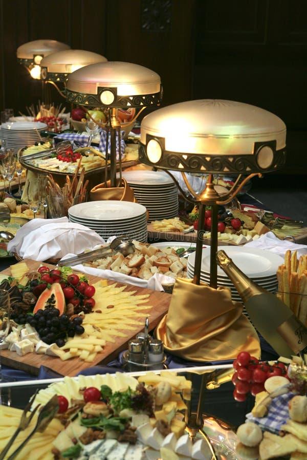 Bufete do restaurante foto de stock royalty free