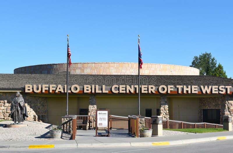 Buffalo Bill centrum Zachodni Południowy wejście zdjęcia royalty free