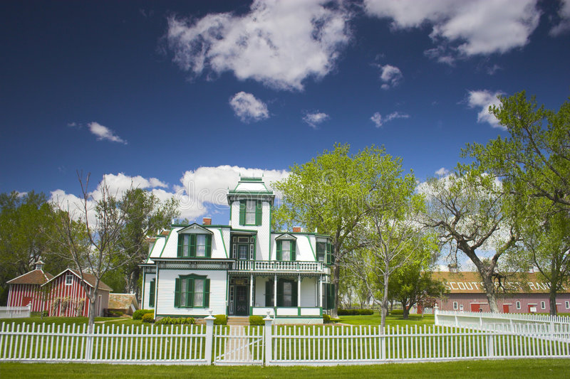 Download Buffalo Bill Mansion Royalty Free Stock Photography - Image: 3550327