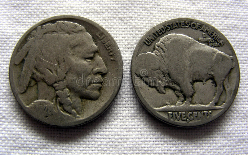 Download Buffalo Nickel stock photo. Image of american, states, indian - 459630