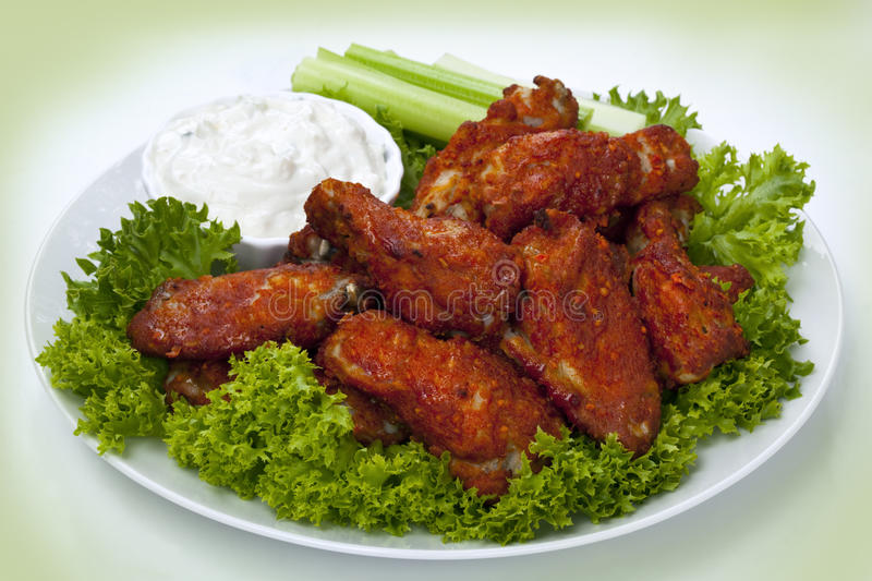 Download Buffalo Wings stock photo. Image of photograph, celery - 18569684