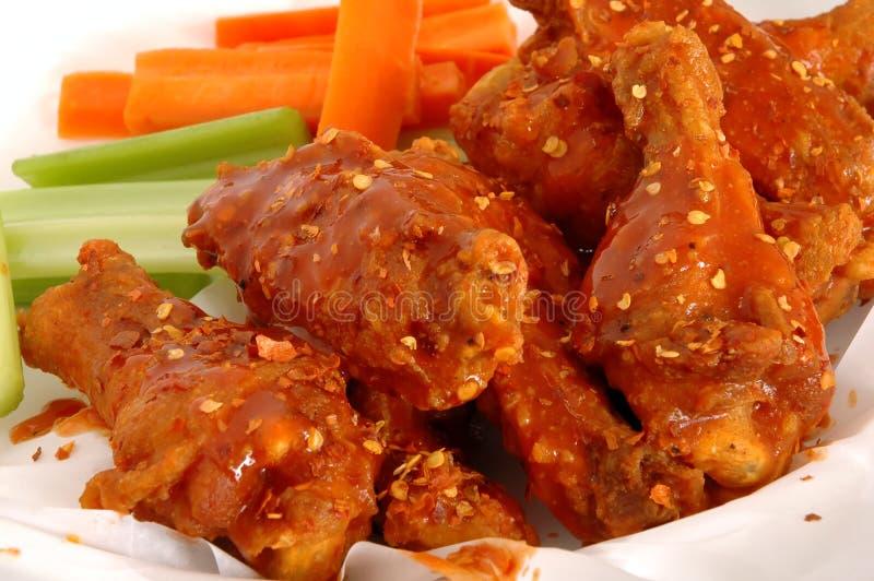 BUffalo wings stock photos