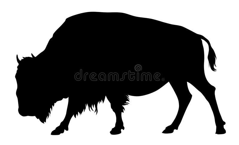 Buffels royalty-vrije illustratie