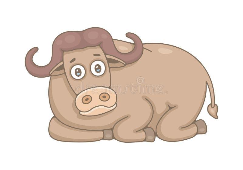buffels stock illustratie