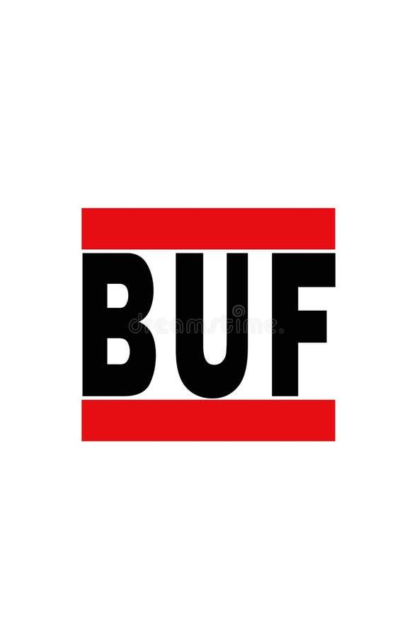 Buffels, New York stock illustratie