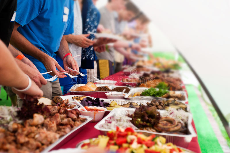 Download Buffet stock photo. Image of people, buffet, party, objec - 28011998