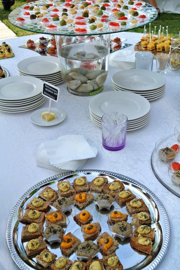 buffet stock fotografie