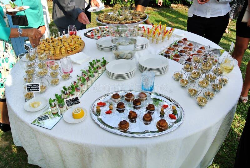 buffet stock foto