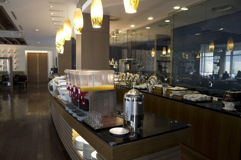 Buffet breakfast restaurant stock images